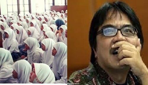 Terrnyata Semua Sekolah di Padang Dipaksa Berjilbab, AA: Bagaimana Sumbar Akan Maju?