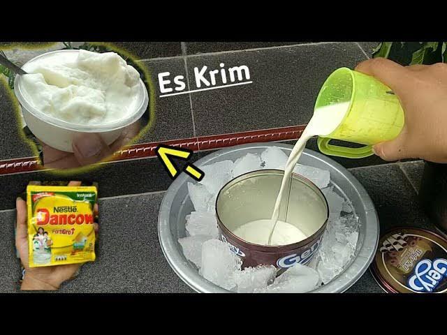 Cara Bikin Ice Cream Sederhana Dengan Susu Bubuk, Secara Manual Kamu Mau Coba?