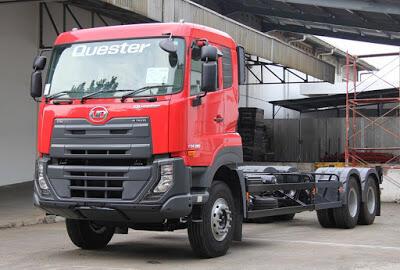 UD Quester CDE 250 6x2 Rigid - Truk Buatan Jepang Dengan Cita Rasa Eropa