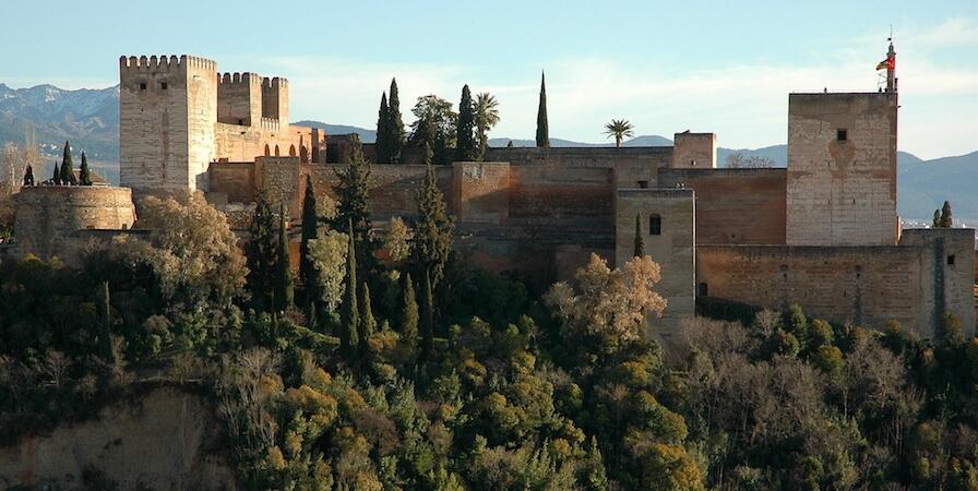 Alhambra, Tempat Syuting Memories Of Alhambra!