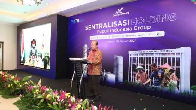 Masuki 2021, Pupuk Indonesia Tetapkan 5 Inisiatif Strategis