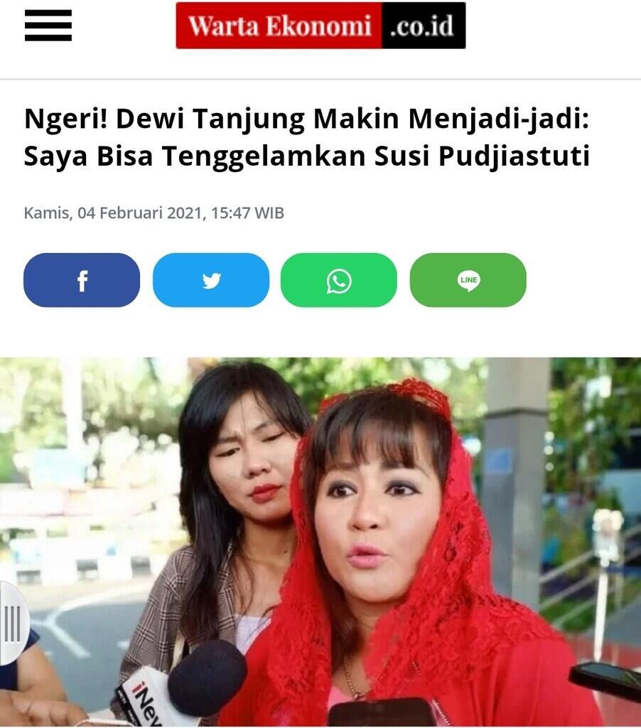 Sebut PSBB Bukan Solusi,Dewi Tj Prediksi Covid-19 tkkn Hilang 4 Tahun Kedepan