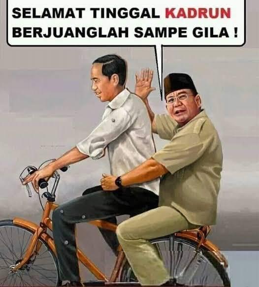 Buat Kadrun PKS-Demokrat, DS:Sabar aja Kami Udah Menang,Kalo Pengen Tarung Lagi Nanti