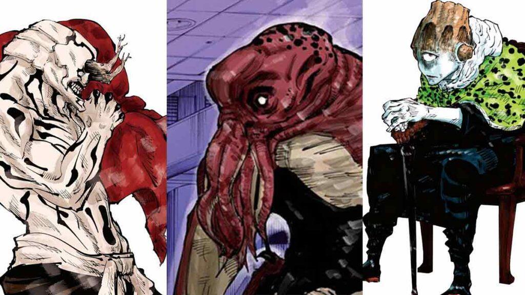 Jujutsu Kaisen, Tiga Monster Kutukan Perwakilan Alam!