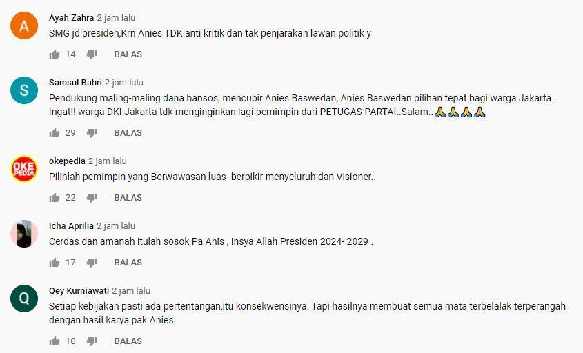 YOUTROD CHANNEL DI YOUTUBE, BERITA PRESTASI ANIES BASWEDAN DI JAKARTA