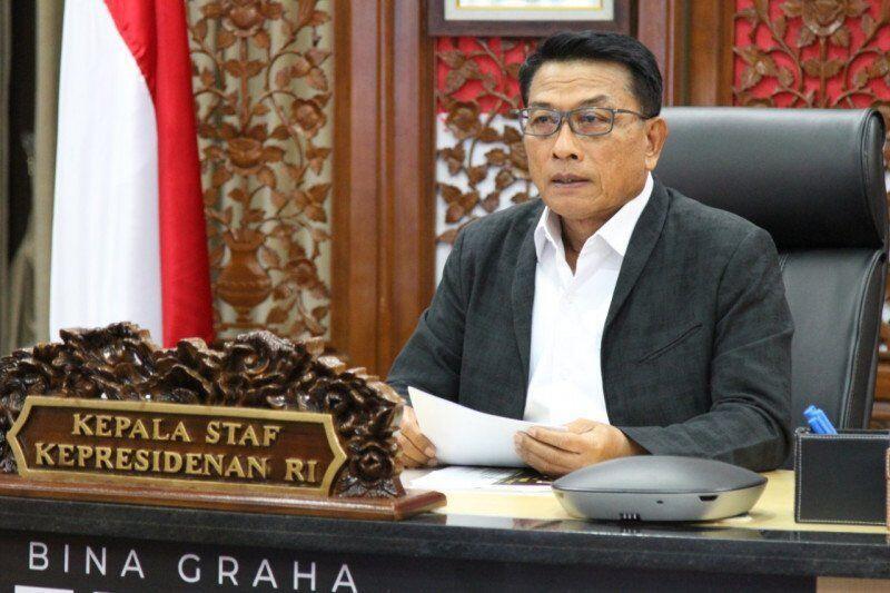 Moeldoko Kembali Diserang Relawan Jokowi Akibat Recana Kudetanya