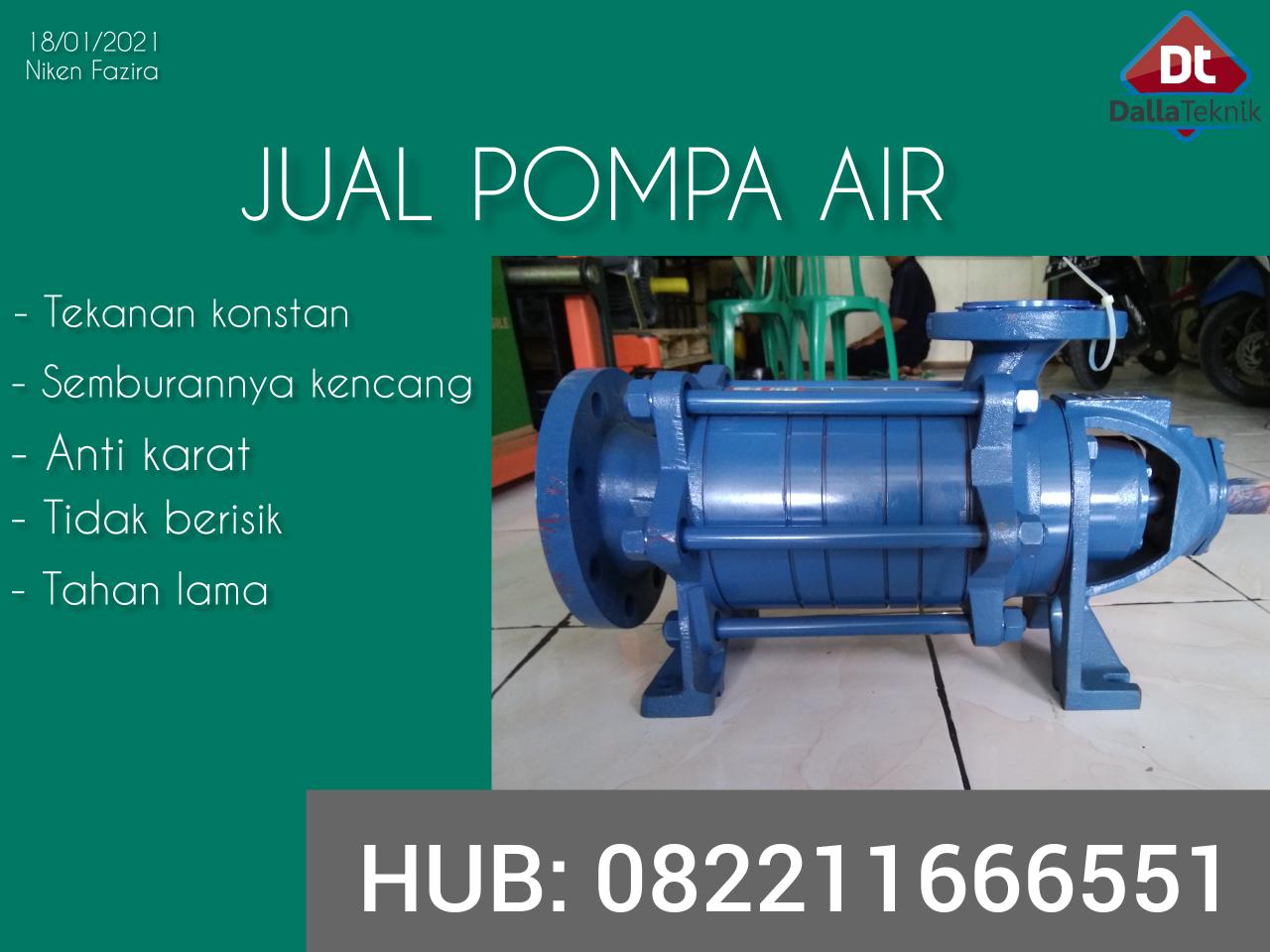 Distributor pompa sentrifugal torishima Di Bogor