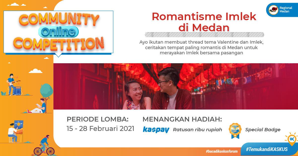 COC Regional, Romantisme Imlek di Medan
