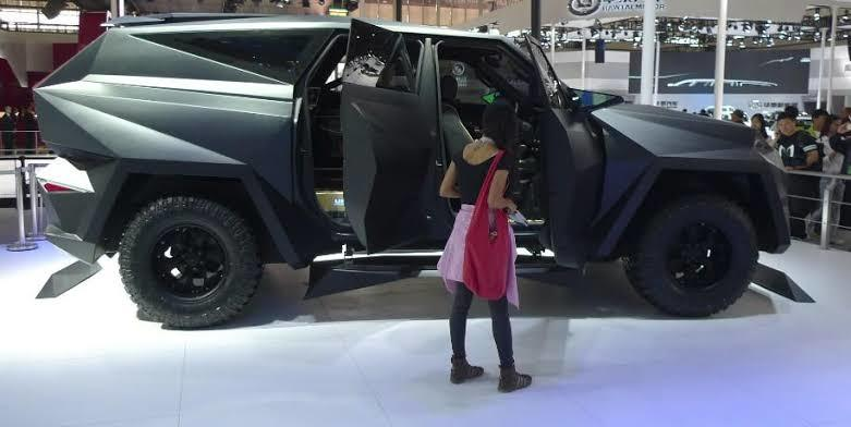 Mobil SUV Termahal Bukan Buatan Eropa Tapi Buatan China