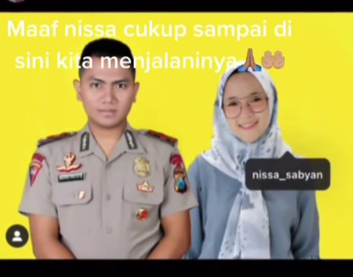 Viral, Video Seorang Polisi Ungkapkan Kekecewaannya Kepada Nissa Sabyan!