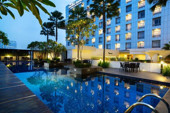 Romantisme Menikmati Gebyar Imlek, Menginap di Hotel Santika Premiere Dyandra Medan