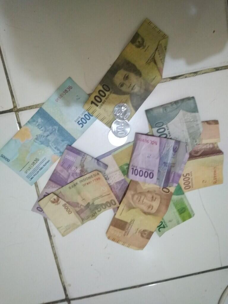 Ketika sisa duit tinggal 120 Ribu