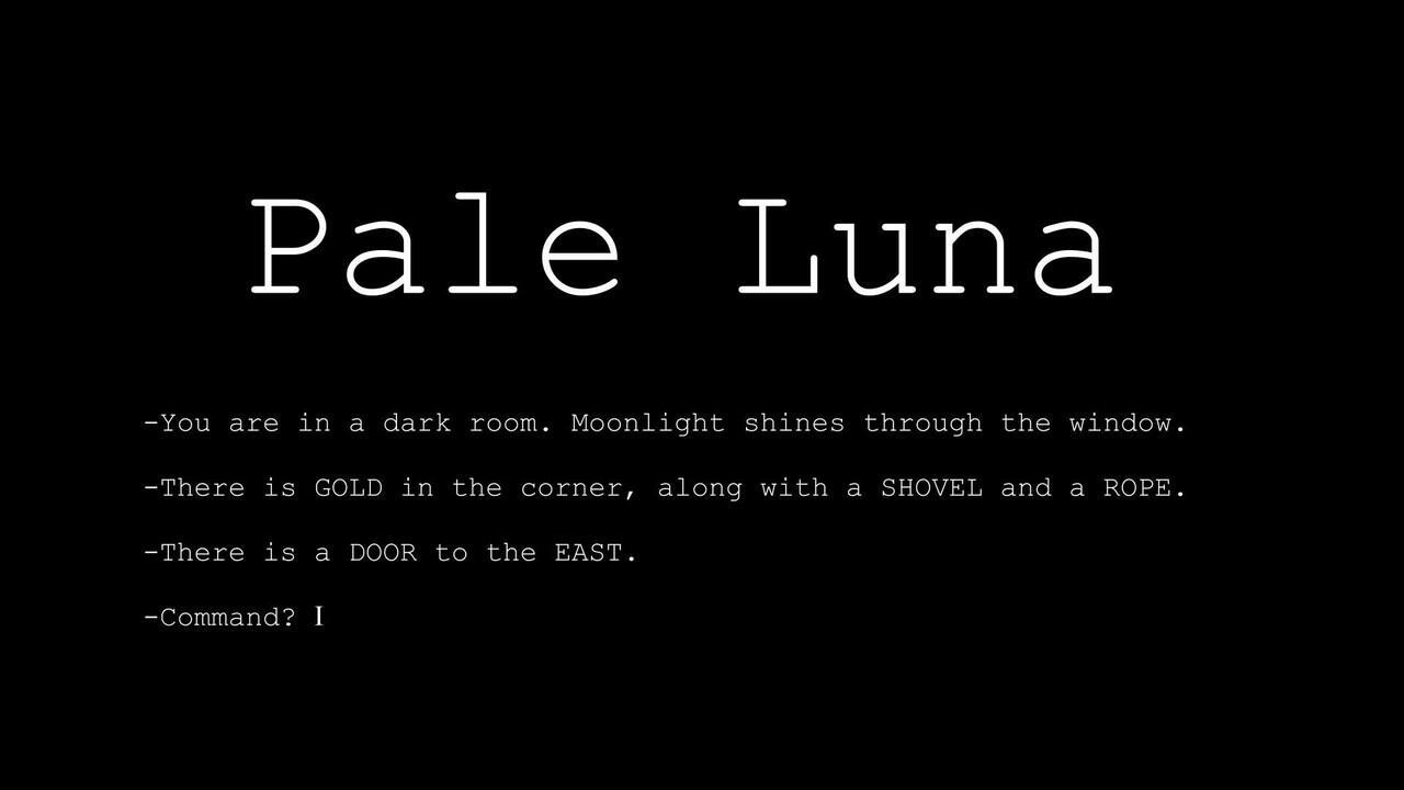 Pale Luna, Game Teks yang Berujung Penemuan Misterius
