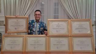 Lagi, Anies Baswedan Raih Penghargaan Sebagai Tokoh Pemberdayaan 2020