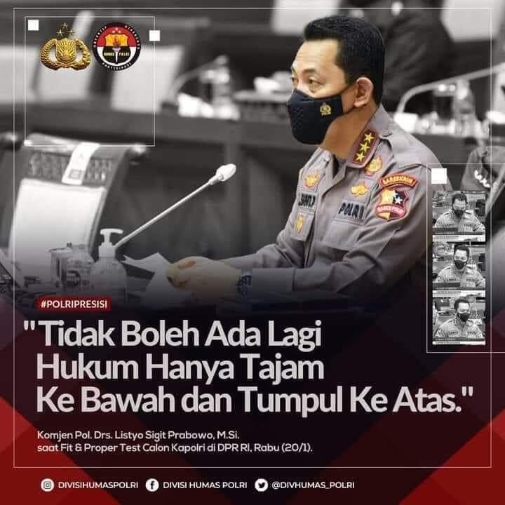 Polri Tolak Laporan Kasus Dugaan Kerumunan Jokowi