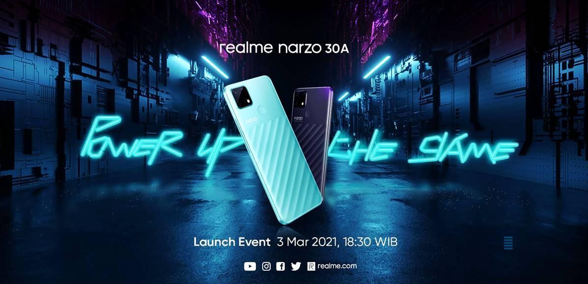 Realme Narzo 30A Akan Rilis di Indonesia, Ini Bocoran Spesifikasinya