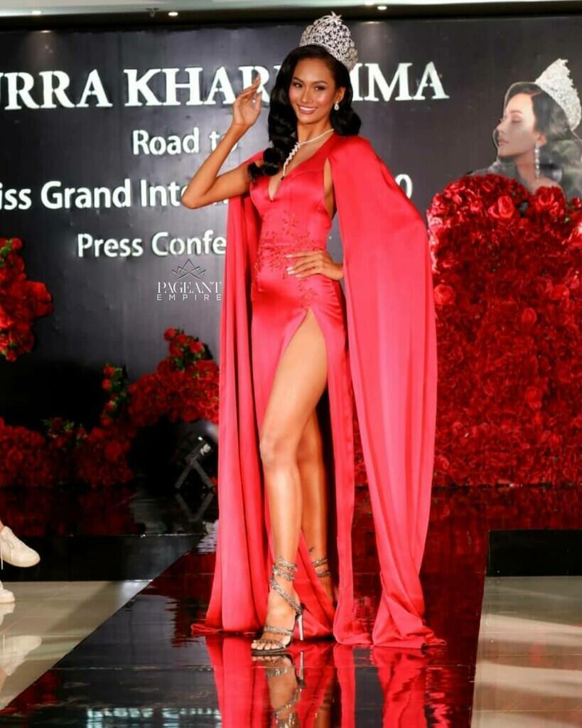 Intip Press Conference, Persiapan Aura Kharisma Menuju Miss Grand International 2020