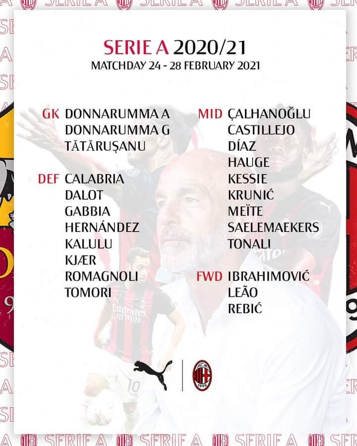 PREDIKSI ROMA VS MILAN