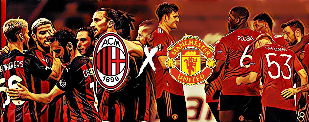 Rekor Pertemuan AC Milan vs Manchester United