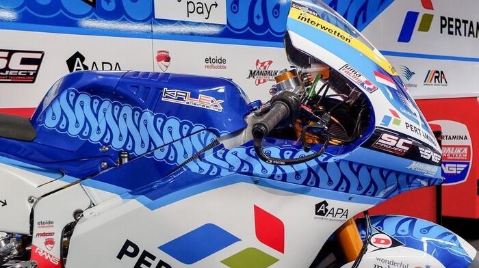 Tim MotoGP Indonesia, Pertamina Mandalika SAG Team Siap Ramaikan Moto2