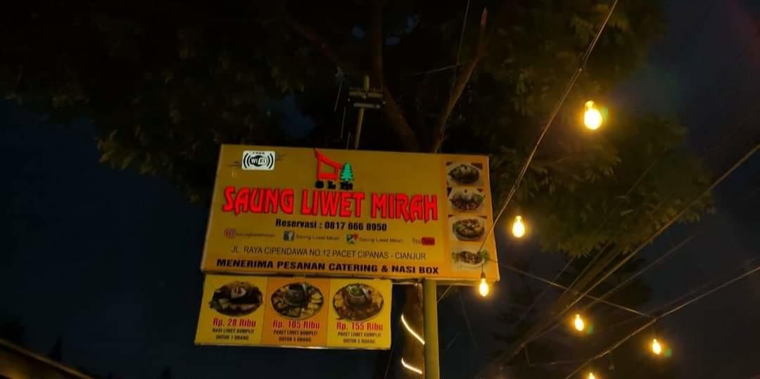 """Review """"Saung Liwet Mirah"""" Pacet Cipanas Cianjur: Murahnya Gak Bohong Loh!"""