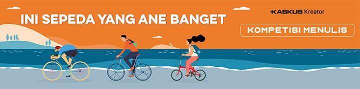Gowes Sehat Keliling Danau Dengan Sepeda Lipat