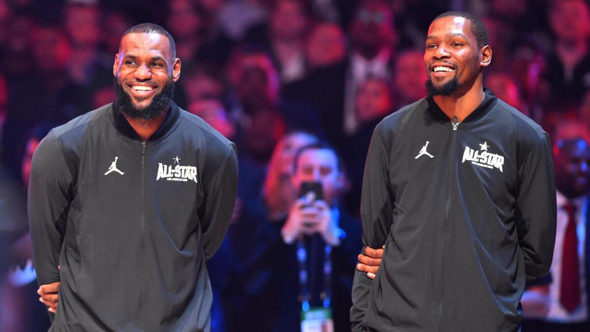 Duet LeBron dan Giannis Siap Hancurkan Duet KD dan Kawhi di NBA All Star 2021
