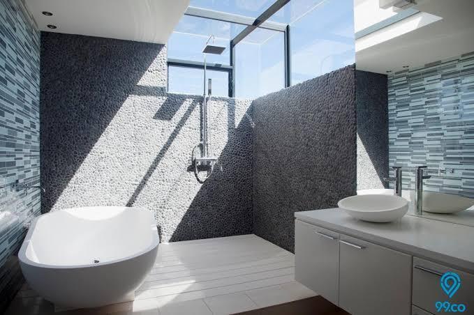 Berikut 4 Desain Kamar Mandi Bikin Penguhuni Rumah Nyaman Dan Betah