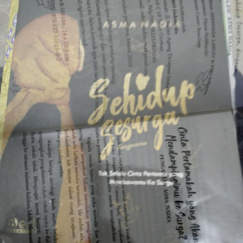 Review Novel Asma Nadia Sehidup Sesurga denganmu, Diangkat dari Kisah Nyata!