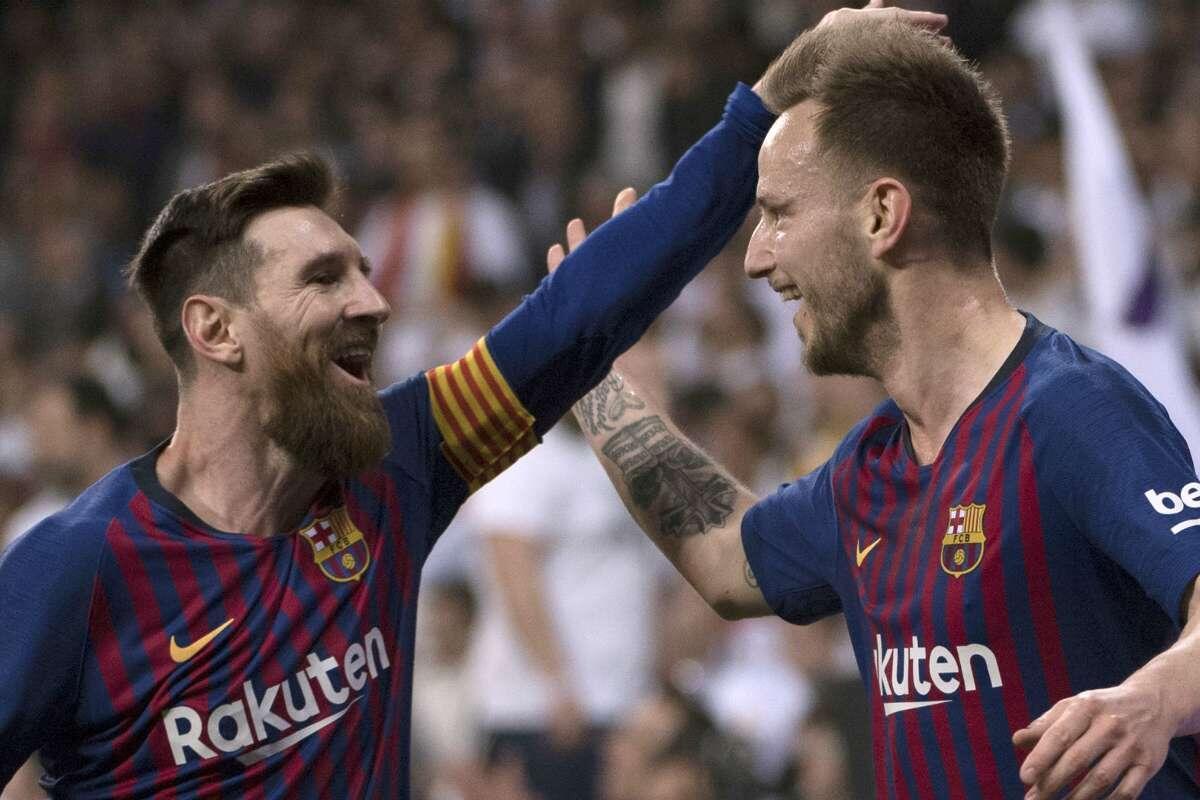 Rakitic: aku punya trofi yang tidak dimiliki Messi
