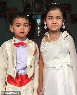 Viral | Bocah 5 Tahun Dinikahkan Orang Tuanya Dengan Kembaranya Sendiri, Kok Bisa ya?