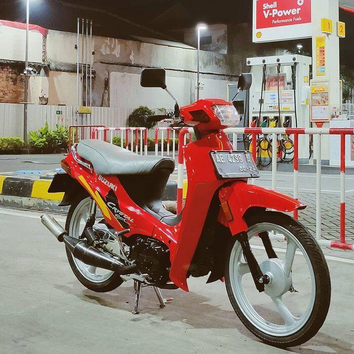 Suzuki Crystal, Bebek 2-Stroke yang Pernah Berjaya di Ajang Road Race dan Grasstrack