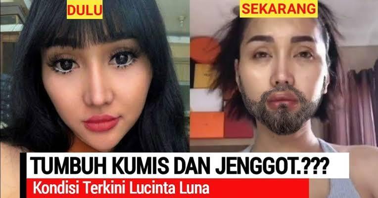 Lucinta Luna Tampil Brewokan, Bikin Netizen Salah Fokus
