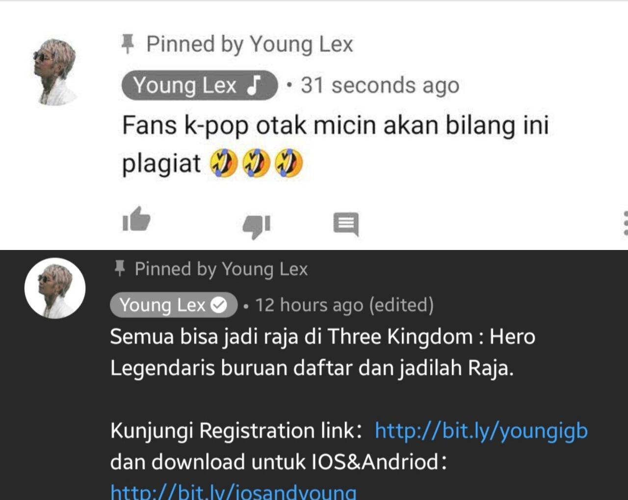 Diduga Plagiat MV Lay 'EXO', Young Lex Dikecam Penggemar EXO