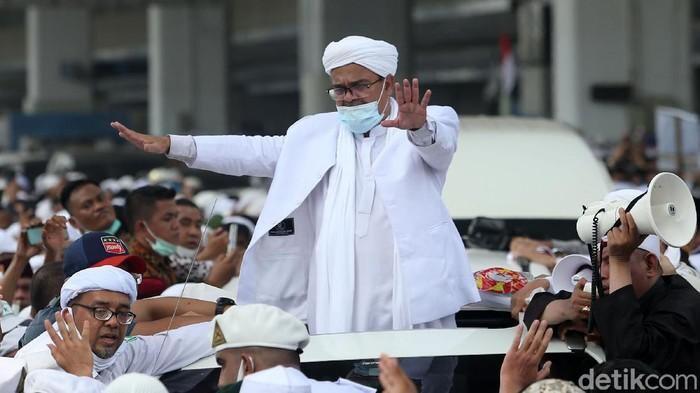 Habib Rizieq Akan Didakwa Pasal Berlapis Terkait 2 Kasus, Ini Rinciannya