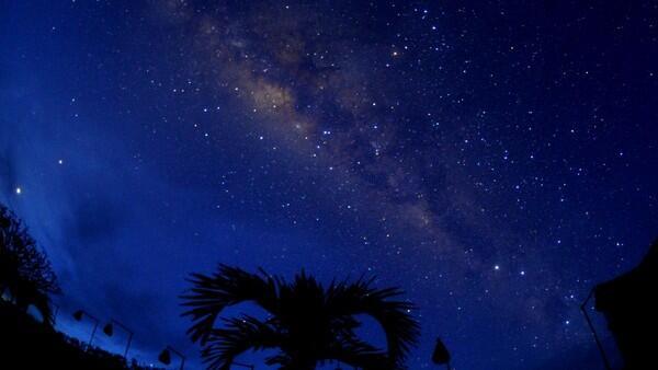Penampakan Galaksi Bima Sakti Saat Nyepi Ramaikan Media Sosial