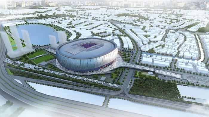 Jakarta Internasional Stadium Sudah Rampung 50,4 Persen