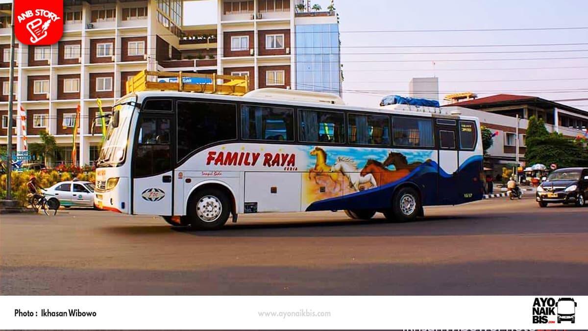Sejarah Berdirinya Family Raya Ceria - Perjalanan 25 Tahun Bus Asal Jambi