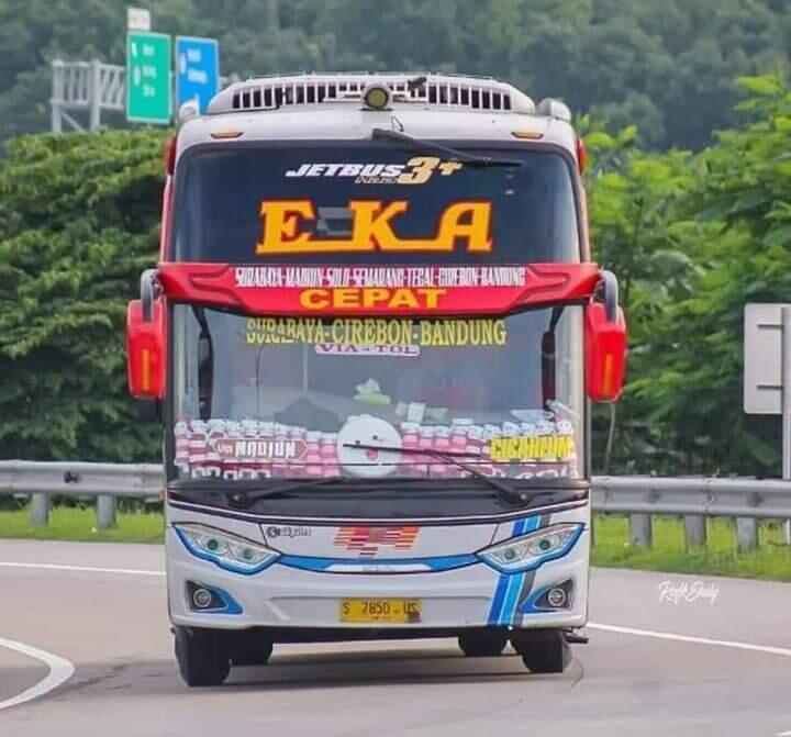 Sejarah Eka & Mira - Berawal dari Usaha Toko Kain, Inilah Bus Asli Kota Mojokerto