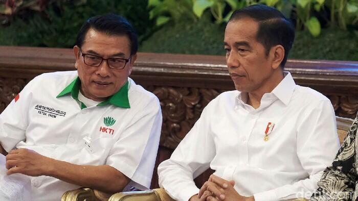 Jokowi - Moeldoko 2024