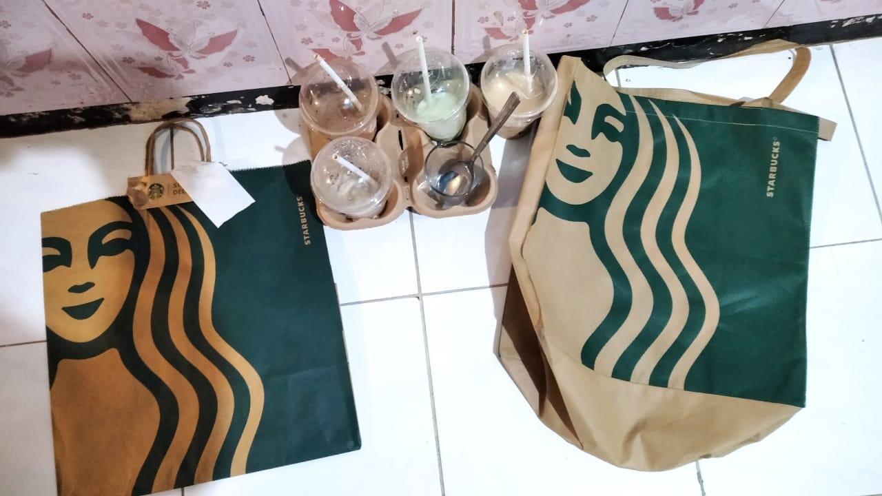 Reusable Bag Starbucks Murmer, Cuman IDR 7,5k Doank
