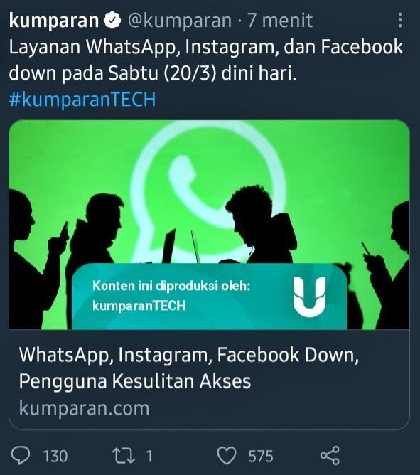 Instagram, Whatsapp Down