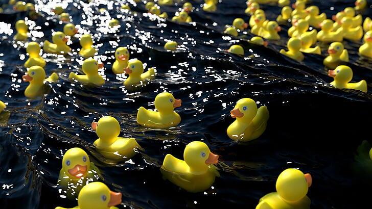 3 Fakta Bebek Karet Kuning Teman Mandi Anak-anak yg Jarang Orang Ketahui