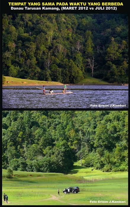 Bukan Mistis! Penjelasan Ilmiah, Danau Tarusan Kamang Bisa Hilang Dan Muncul Sendiri.