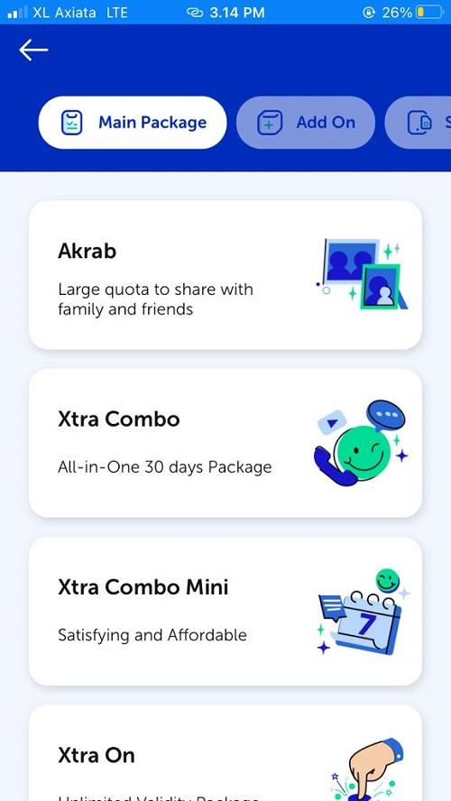 Paket Akrab XL