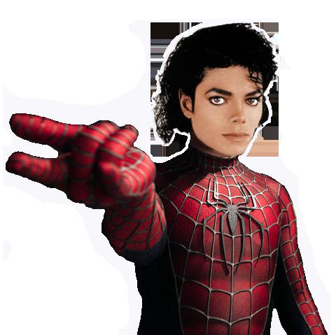MICHAEL JACKSON NYARIS BERPERAN SEBAGAI SPIDERMAN DI FILM???