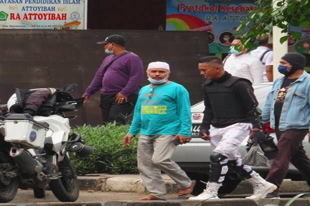 Beredar Foto Terduga Teroris Condet saat Sidang Habib Rizieq