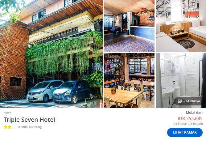 Rekomendasi Hotel Murah di Bandung Dibawah 270 Ribu Rupiah!