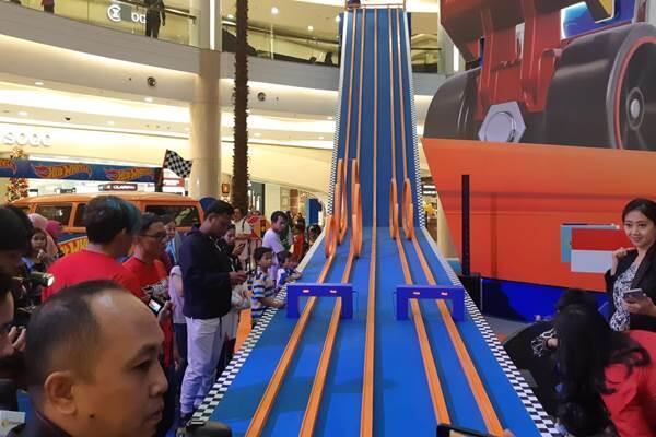Lintasan Hot Wheels terpanjang di Indonesia pecahkan Rekor MURI