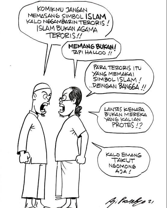 Sebut Nama Islam Sudah Buruk, Denny Siregar: Itu Sejak Teroris Bawa-bawa Agama